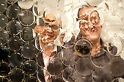 ROBERT DEVCIC, Relics of the Mind.- Private view of work by Katharine Dowson. GV Art, 49 Chiltern st. London. W1. 16 September 2010. -DO NOT ARCHIVE-© Copyright Photograph by Dafydd Jones. 248 Clapham Rd. London SW9 0PZ. Tel 0207 820 0771. www.dafjones.com.