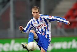 13-01-2008 VOETBAL: FC UTRECHT - HEERENVEEN: UTRECHT<br /> Na een enerverende wedstrijd moesten FC Utrecht en SC Heerenveen genoegen nemen met een puntendeling: 2-2 / Roy Beerens<br /> ©2008-WWW.FOTOHOOGENDOORN.NL