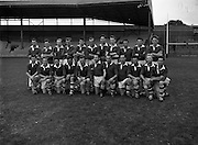 Victorious Fermanagh Team Junior Home Final - Fermanagh vs. Kerry<br /> 20/09/1959<br /> <br /> Fermanagh played and defeated Kerry in the home final on 20 September 1959 in Croke Park. Things were close initially and Kerry made a strong comeback in the second half but the Fermanagh team dug in and won on a score line of 1-13 to 2-3. As a result of winning this home final, Fermanagh then progressed onto what was then known as the &ldquo;The Final&rdquo;. &ldquo;The &lsquo;Final&rdquo; was played in New Etham Stadium in London on Sunday 11 October 1959 and the opposition was the British Senior Champions London. The opening half was very close with the teams level at half time and although London scored a late goal Fermanagh were not to be denied their moment of history, Fermanagh 1-11, London 2-4. <br />