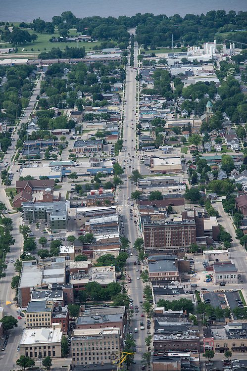 Agneisan, Waupun hospital aerial, fly, lakeside,weapon memorial,realty,downtown,mercury,springs June 18, 2015. Patrick Flood Photography
