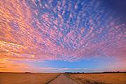 CLouds at sunrise<br /> Lepine<br /> Saskatchewan<br /> Canada