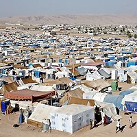 Syrian refugees in the Domiz camp outside of Dahouk in in Iraqi Kurdistan, Sunday, August 25, 2013.  August 2013.