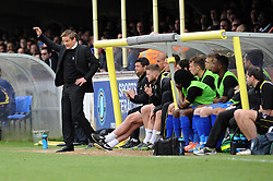 AFC Wimbledon Manager, Neal Ardley - Photo mandatory by-line: Dougie Allward/JMP - Mobile: 07966 386802 05/04/2014 - SPORT - FOOTBALL - Kingston upon Thames - Kingsmeadow - AFC Wimbledon v Bristol Rovers - Sky Bet League Two