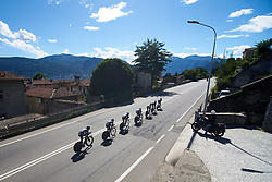 Trek Drops at Giro Rosa 2018 - Stage 1, a 15.5 km team time trial in Verbania, Italy on July 6, 2018. Photo by Sean Robinson/velofocus.com