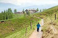 Mitterfeldalm, Salzburger Almenweg, Salzburgerland, Austria © Rudolf Abraham