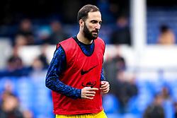 Gonzalo Higuain of Chelsea - Mandatory by-line: Robbie Stephenson/JMP - 17/03/2019 - FOOTBALL - Goodison Park - Liverpool, England - Everton v Chelsea - Premier League
