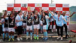 E.C.F.F comemora a vitória na Copa Coca-Cola, no campo do Piriquito, neste sábado 10/09/2011, em Porto Alegre Alegre. FOTO: Jefferson Bernardes/Preview.com