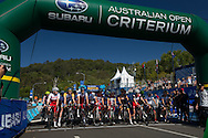 Noosa Womens Australian Open Criterium, November 1, 2014 - TRIATHLON : Noosa Triathlon Festival - Super Saturday, Noosa Parade, Noosa, Queensland, Australia. Credit: Lucas Wroe