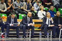 Eric DELORD / TJ PARKER / Nordine GHRIB  - 29.12.2014 - Lyon Villeurbanne / Le Havre - 16e journee Pro A<br />Photo : Jean Paul Thomas / Icon Sport