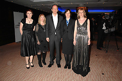Left to right, Costa Book of the Year finalists CATHERINE O'FLYNN,  ANN KELLEY, SIMON SEBAG-MONTEFIORE, A L KENNEDY and JEAN SPRACKLAND at the 2007 Costa Book Awards held at The Intercontinental Hotel, One Hamilton Place, London W1 on 22nd January 2008.<br />