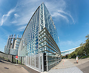 Strasbourg's implantation of the European Parliament - Outside view.<br /> Crédit Paul Marnef / ISOPIX