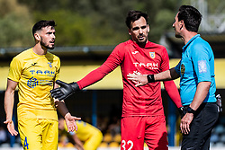 Amadej Vetrih of NK Domzale and Santini Krsevan of NK Domzale during Football match between NK Domzale and NS Mura in 30th Round of Prva liga Telekom Slovenije 2018/19, on May 1st, 2019, in Sports park Domzale, Slovenia. Photo by Grega Valancic / Sportida