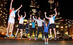 20151029 USA: NYC Marathon We Run 2 Change Diabetes day 1, New York