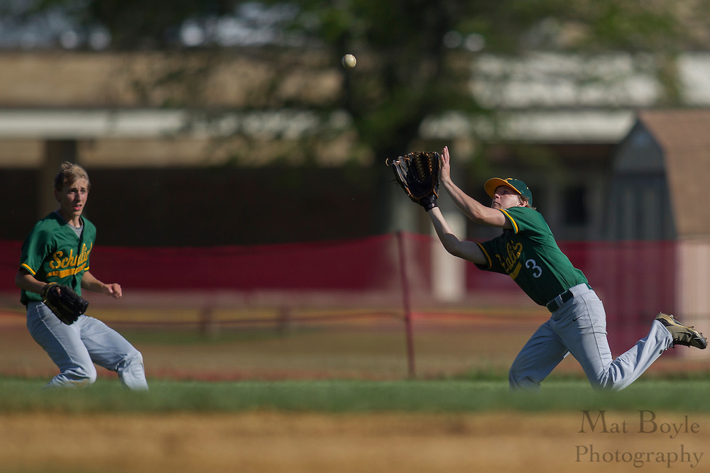 Glassboro High School baseball hosts Schalick High School on Thursday May 10, 2012 in Glassboro, NJ. (photo / Mat Boyle)
