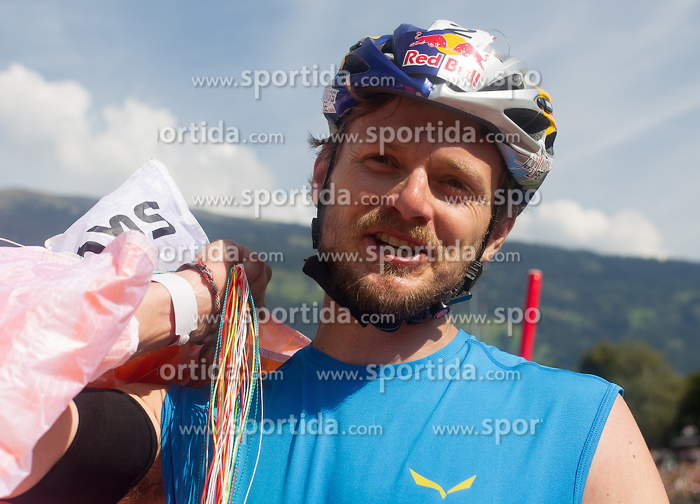 10.09.2016, Lienz, AUT, Red Bull Dolomitenmann 2016, Paragleiter, im Bild Paul Guschlbauer (AUT, Paragleiter vom Team Red Bull) // during the paragliding of the 2016 Red Bull Dolomitenmann at the Lienz, Austria on 2016/09/10. EXPA Pictures © 2016, PhotoCredit: EXPA/ Johann Groder