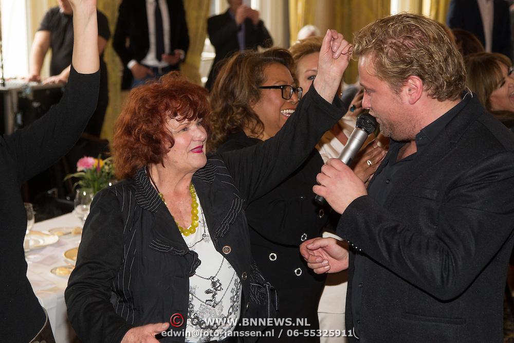 NLD/Amsterdam/20160321 - The Strong Woman Award 2016, Imca Marina en Wesley Bronkhorst