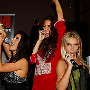NLD/Amsterdam/20100222 - Presentatie FHM Cover met damesgroep Eyecandy, Jihane Naji, Melissa Sneekes
