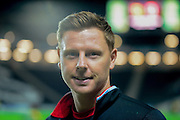 MK Dons goal keeper David Martin during the Sky Bet Championship match between Milton Keynes Dons and Middlesbrough at stadium:mk, Milton Keynes, England on 9 February 2016. Photo by Dennis Goodwin.