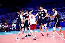 July 4, 2018 - Lille, France, France - joie des joueurs de la pologne (Credit Image: © Panoramic via ZUMA Press)