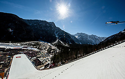 Jakub Wolny (POL) soaring through the air during the Ski Flying Hill Individual Competition at Day 4 of FIS Ski Jumping World Cup Final 2019, on March 24, 2019 in Planica, Slovenia. Photo by Vid Ponikvar / Sportida