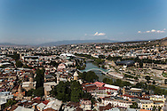 View of Tbilisi from Sololaki hill