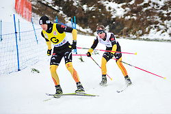 BREM Wilhelm Guide:  SCHLEE Normann, GER at the 2014 IPC Nordic Skiing World Cup Finals - Long Distance