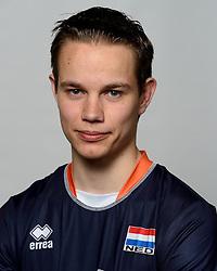 09-05-2014 NED: Selectie Nederlands zitvolleybal team mannen, Leersum<br /> In sporthal De Binder te Leersum werd het Nederlands team zitvolleybal seizoen 2014-2015 gepresenteerd / Tom Poortman