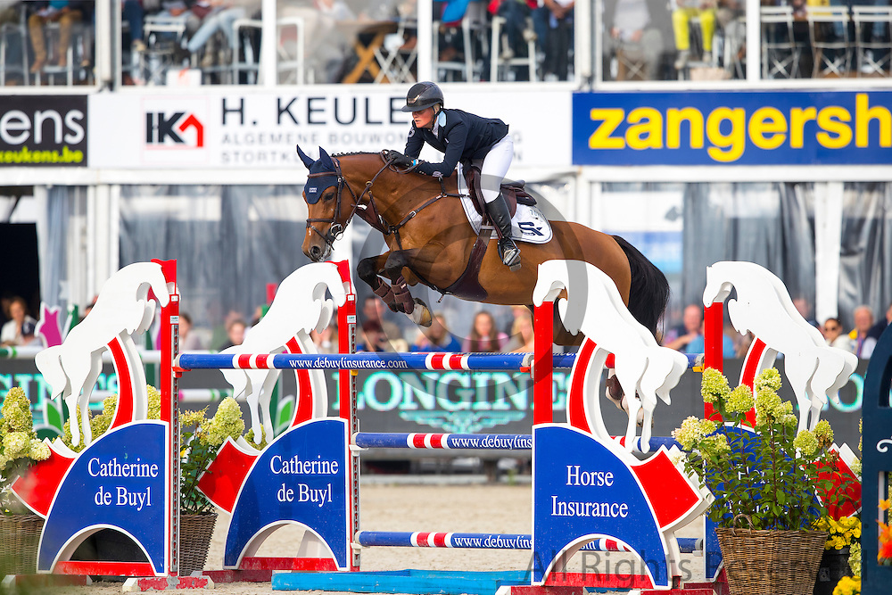 Petronella Andersson - Evidence<br /> FEI World Breeding Jumping Championships for Young Horses 2016<br /> © DigiShots