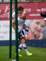 Falkirk's Connor Sammon celebrates after scoring their second goal. Raith Rovers 2 v 2 Falkirk, Scottish Football League Division One played 5/9/2019 at Stark's Park, Kirkcaldy.