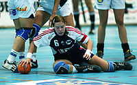 Håndball, 26. september 2002. Treningskamp, Norge - Jugoslavia 31-19. Else-Marthe Sørlie Lybekk, Norge.