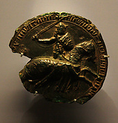 Great seal of King Edward III, wax 1327- unprovenanced.