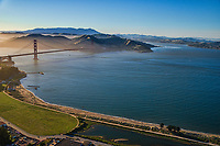 Chrissy Field & Golden Gate Bridge, San Francisco Bay