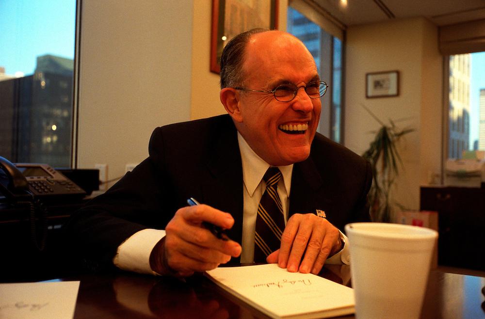 Rudi Guiliani ex - mayor of New York City