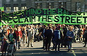 Reclaim The Streets protest London 1997