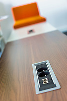 Photo of outlet plug in office