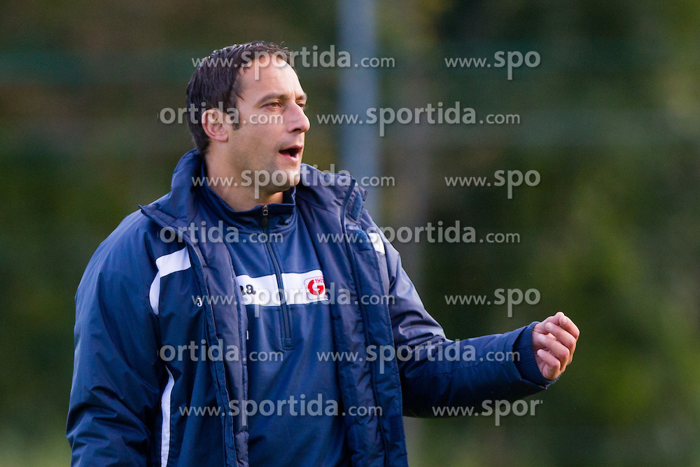 Ales Ceh, head coach of GAK, at during practice before regional match between Grazer AK and SV Tondach Gleinstätten, on October 14, 2011 at GAK Training center, Graz, Austria. (Photo By Matic Klansek Velej / Sportida)