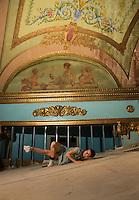 Demi Remick dance photo shoot.  ©2016 Karen Bobotas Photographer