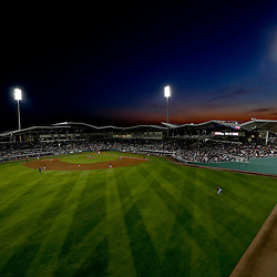 Mar 15, 2013; Fort Myers, FL, USA; A general view of sunset during a spring training game between the Minnesota Twins and the Boston Red Sox at JetBlue Park. Mandatory Credit: Derick E. Hingle-USA TODAY Sports