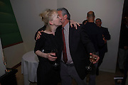 LINDSAY DUNCAN; HENRY GOODMAN, Duet for One first night party. Axiis, One Aldwych, London. 12 May 2009