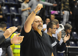 Aleksandar Dzikic, head coach of Partizan during basketball match between KK Partizan Beograd and KK Union Olimpija Ljubljana in Round #5 of ABA League 2016/17, on October 16, 2016 in Beograd, Serbia. Photo by Nebojsa Parausic / Sportida