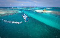 Lone kitesurfer explores a majestic lagoon in the San Blas archipelago of Panama.  The local indigenous Kuna indians see kitesurfing for the first time when The Best Odyssey pulls into town for a month.