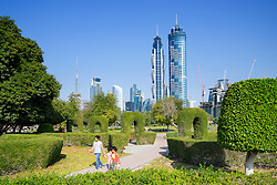 Al Safa Park in Dubai United Arab Emirates