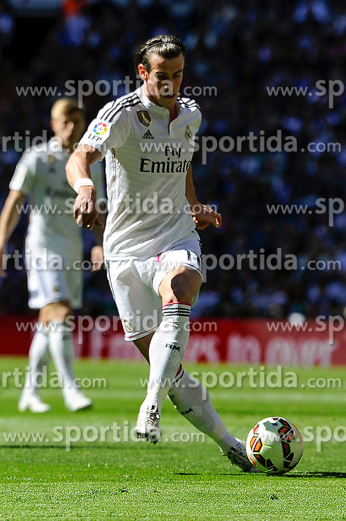 05.04.2015, Estadio Santiago Bernabeu, Madrid, ESP, Primera Division, Real Madrid vs FC Granada, 29. Runde, im Bild Real Madrid&acute;s Gareth Bale // during the Spanish Primera Division 29th round match between Real Madrid CF and Granada FC at the Estadio Santiago Bernabeu in Madrid, Spain on 2015/04/05. EXPA Pictures &copy; 2015, PhotoCredit: EXPA/ Alterphotos/ Luis Fernandez<br /> <br /> *****ATTENTION - OUT of ESP, SUI*****