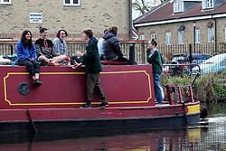 UK ENGLAND LONDON 30APR16 - London Canal boats near Hackney Wick, east London.<br /> <br /> jre/Photo by Jiri Rezac<br /> <br /> © Jiri Rezac 2016