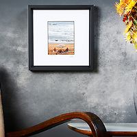 Fine art miniature photography, digital color print, unnumbered edition, signed, print dim. 10x12,5cm, black wooden frame dim. 24,9x24,9cm