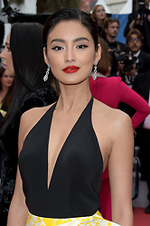 72nd Cannes Film Festival , Red Carpet film : A hidden life. 19 May 2019 Pictured: Nattasha Bunprachom. Photo credit: maximon / MEGA TheMegaAgency.com +1 888 505 6342