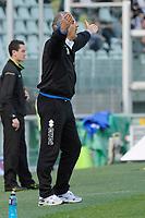 L'allenatore Bortolo Mutti (Atalanta)<br /> Torino 28/03/2010 Stadio Olimpico<br /> Juventus Atalanta - Campionato di Serie A Tim 2009-10.<br /> Foto Giorgio Perottino / Insidefoto
