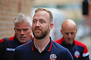 Bolton Wanderers goalkeeper Ben Alnwick (1) arriving at the Portman Rd Stadium before the EFL Sky Bet Championship match between Ipswich Town and Bolton Wanderers at Portman Road, Ipswich, England on 22 September 2018.