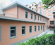 Ristrutturazione generale del collegio universitario Einaudi sez. Valentino in via Galliari (TO) da parte dello Studio de Ferrari Architetti.