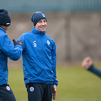 St Johnstone Training…09.12.16<br />Steven MacLean pictured during training at McDiarmid Park this morning..<br />Picture by Graeme Hart.<br />Copyright Perthshire Picture Agency<br />Tel: 01738 623350  Mobile: 07990 594431